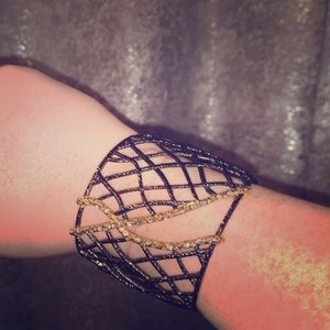 Black & Gold Bangle